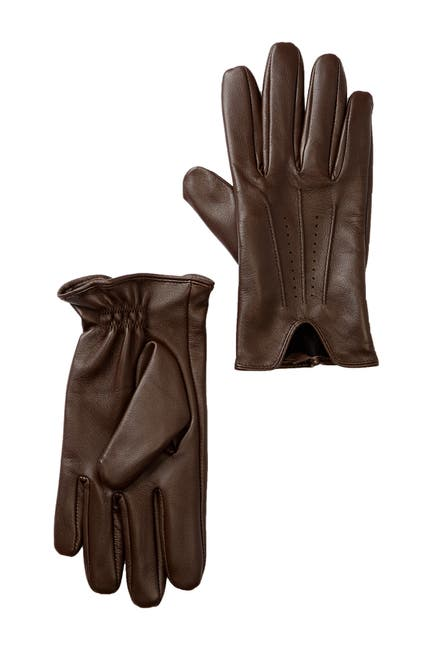 Image of Nordstrom Perforated Leather Gloves