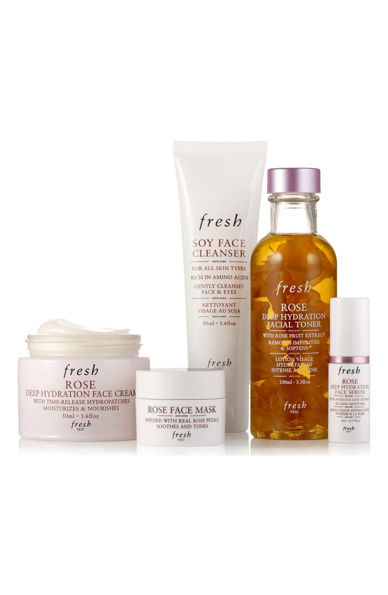 FRESH<SUP>®</SUP> Rose Deep Hydration Ritual Set, Main, color, NO COLOR