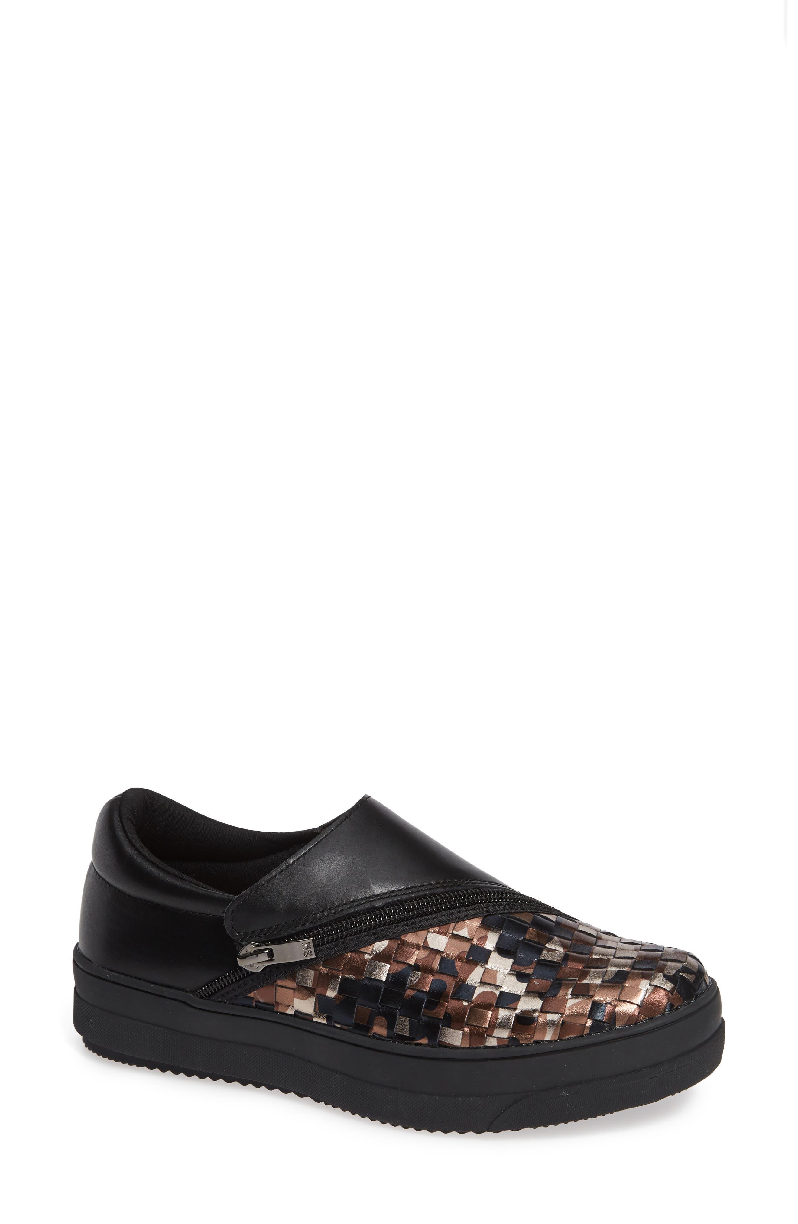 Bernie Mev Michelle Sneaker, Black