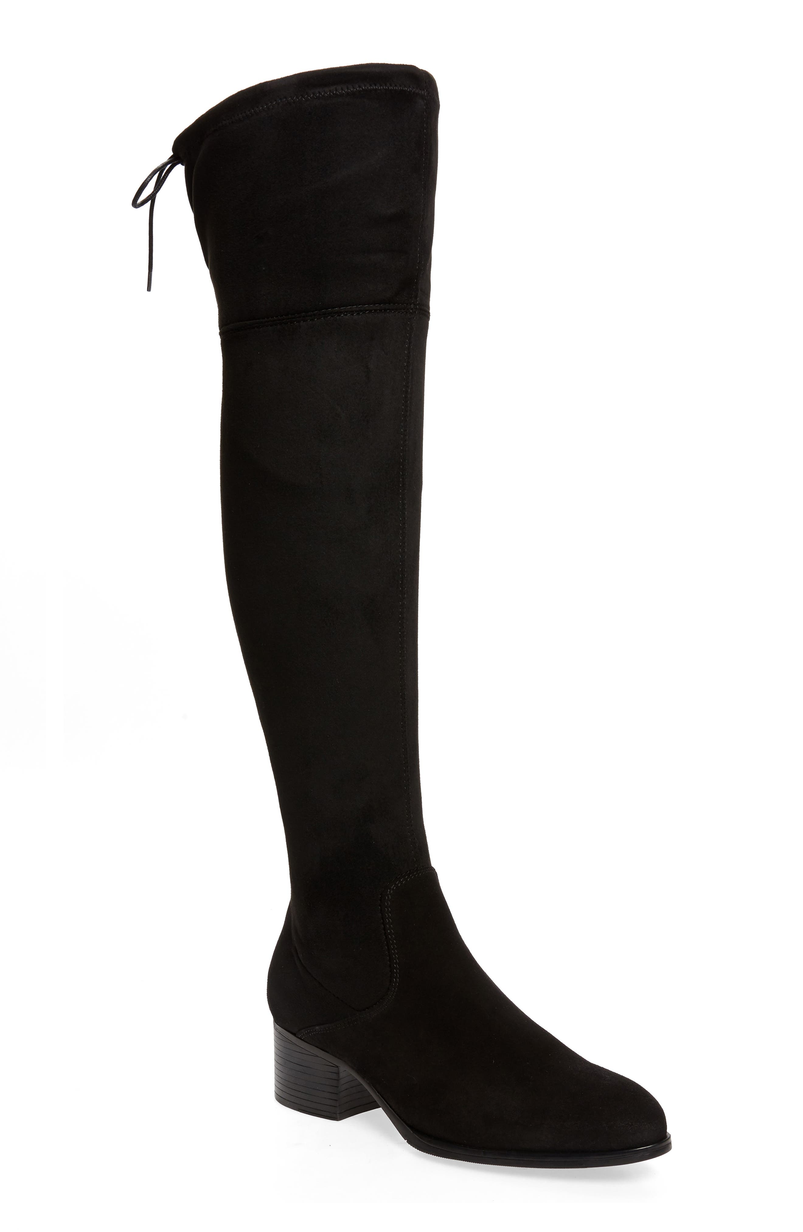 Beat the weather while staying on trend in this luxe over-the-knee boot with a waterproof exterior and an Aquastop breathable, water-repellent backing. Style Name: Bos. & Co. Rewind Waterproof Over The Knee Boot (Women) (Narrow Calf). Style Number: 6086144. Available in stores.
