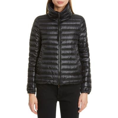 Moncler Basane Quilted Jacket, (fits like 0-2 US) - Black
