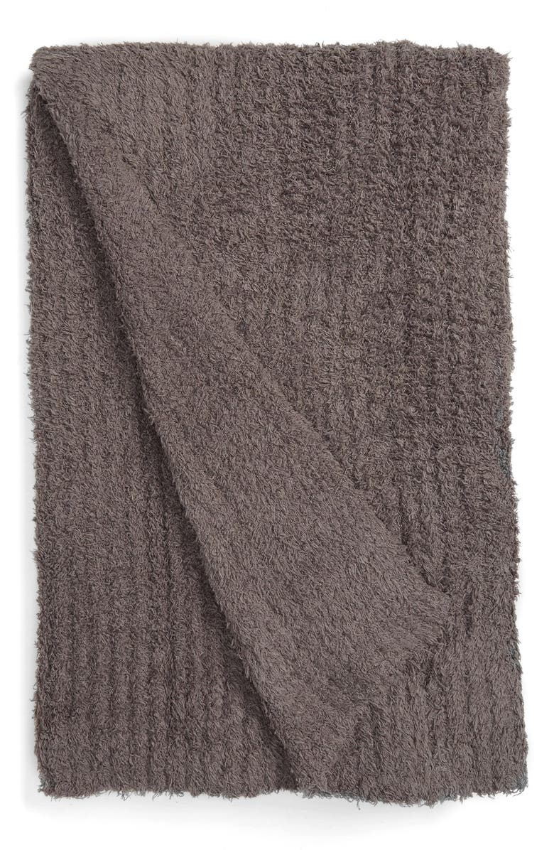 BAREFOOT DREAMS<SUP>®</SUP> CozyChic<sup>®</sup> Ribbed Throw Blanket, Main, color, 050