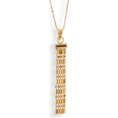 Bony Levy 14K Gold Fringe Pendant Necklace (Nordstrom Exclusive)