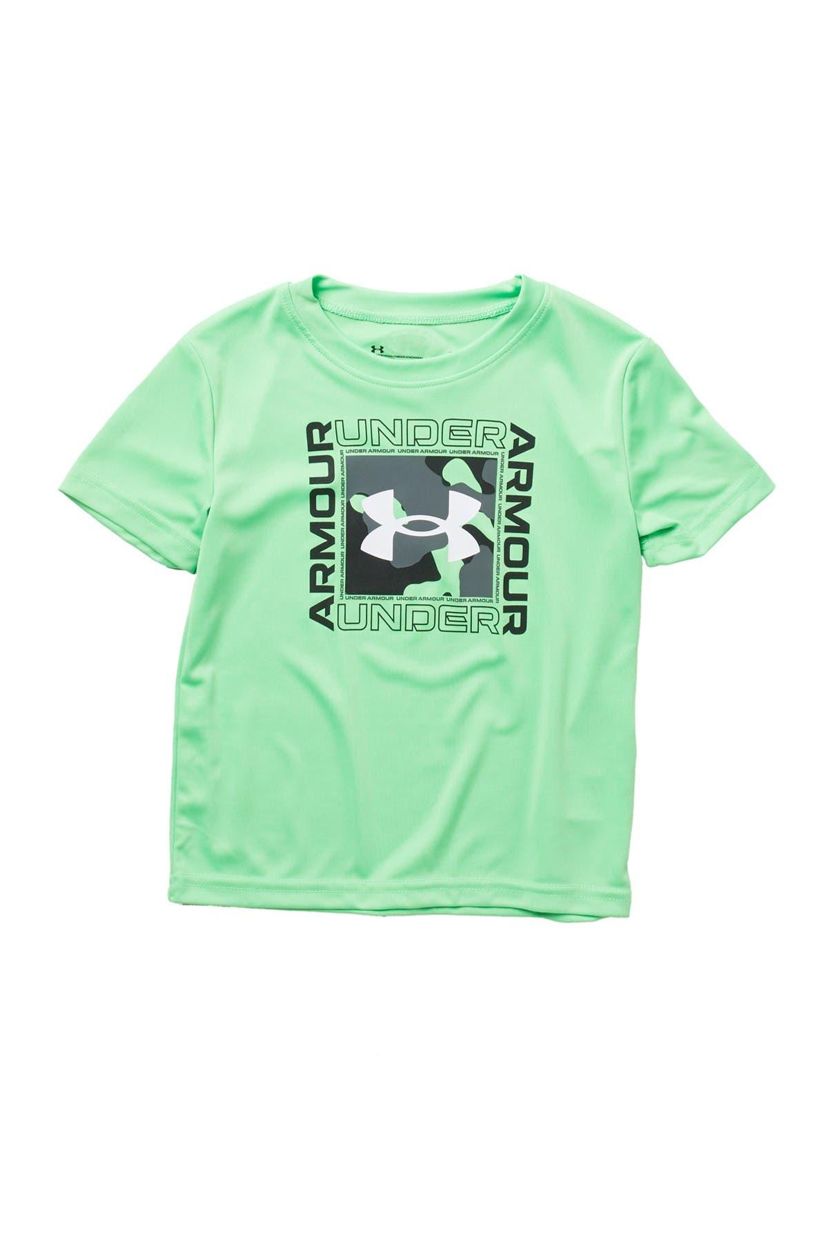 Image of Under Armour Fury Boxed Symbol Short Sleeve T-Shirt