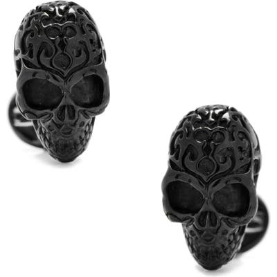 Cufflinks, Inc. Black Fatale Skull Cuff Links