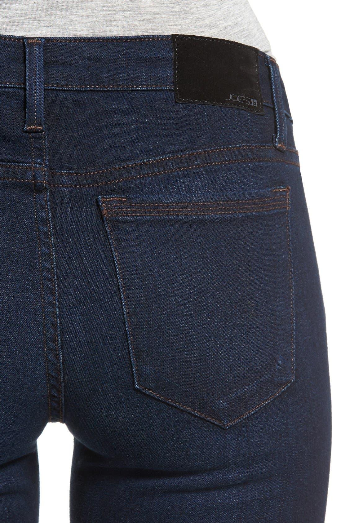 ,                             'Flawless - Honey' Curvy Skinny Jeans,                             Alternate thumbnail 5, color,                             SELMA