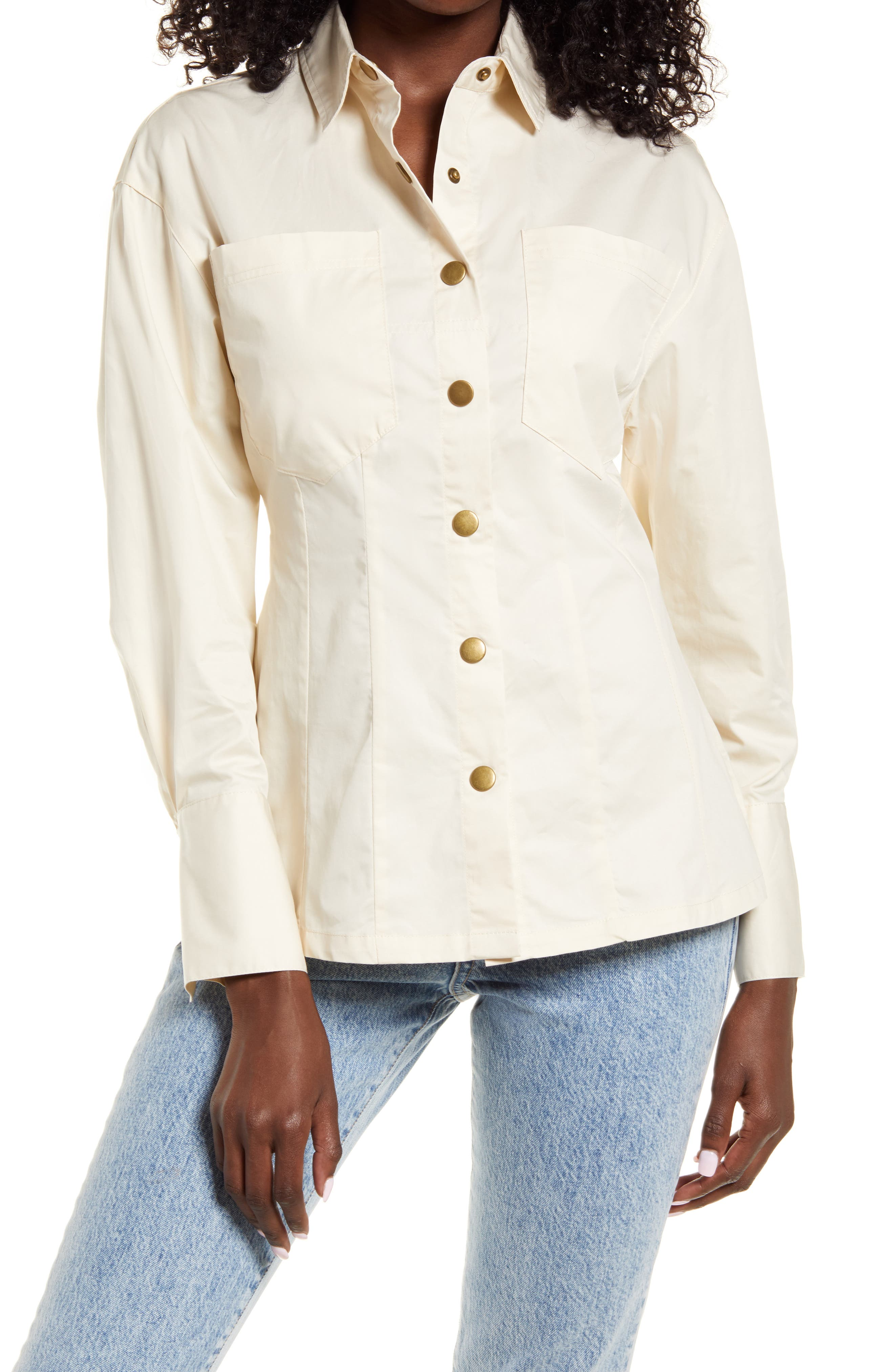 Classic Tailored Long Sleeve Cotton Shirt