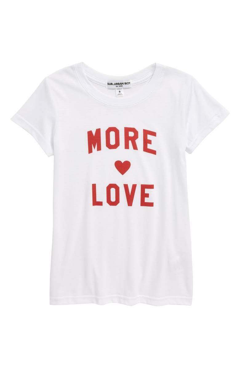 SUB_URBAN RIOT More Love Tee, Main, color, 100