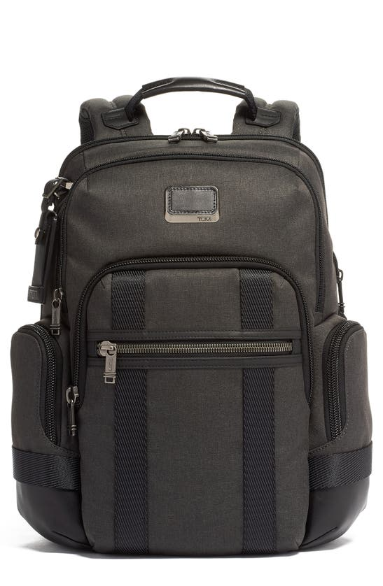 Tumi Alpha Bravo Nathan Expandable Backpack In Graphite