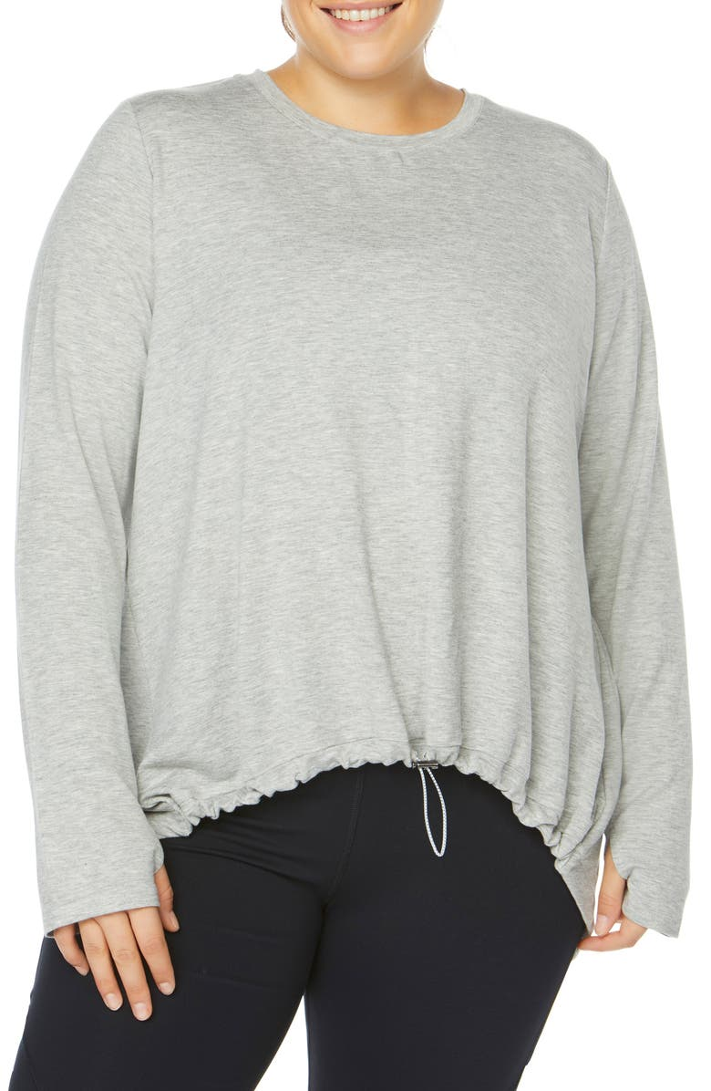 SHAPE ACTIVEWEAR Opt Out High/Low Sweatshirt, Main, color, 061