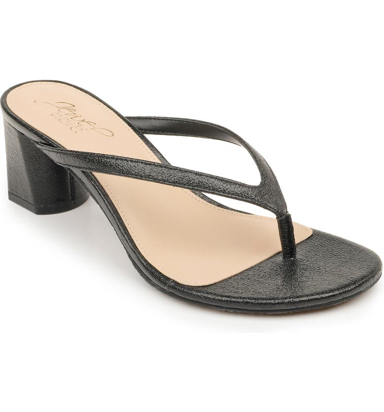 JEWEL BADGLEY MISCHKA Bravery Sandal, Main, color, BLACK METALLIC