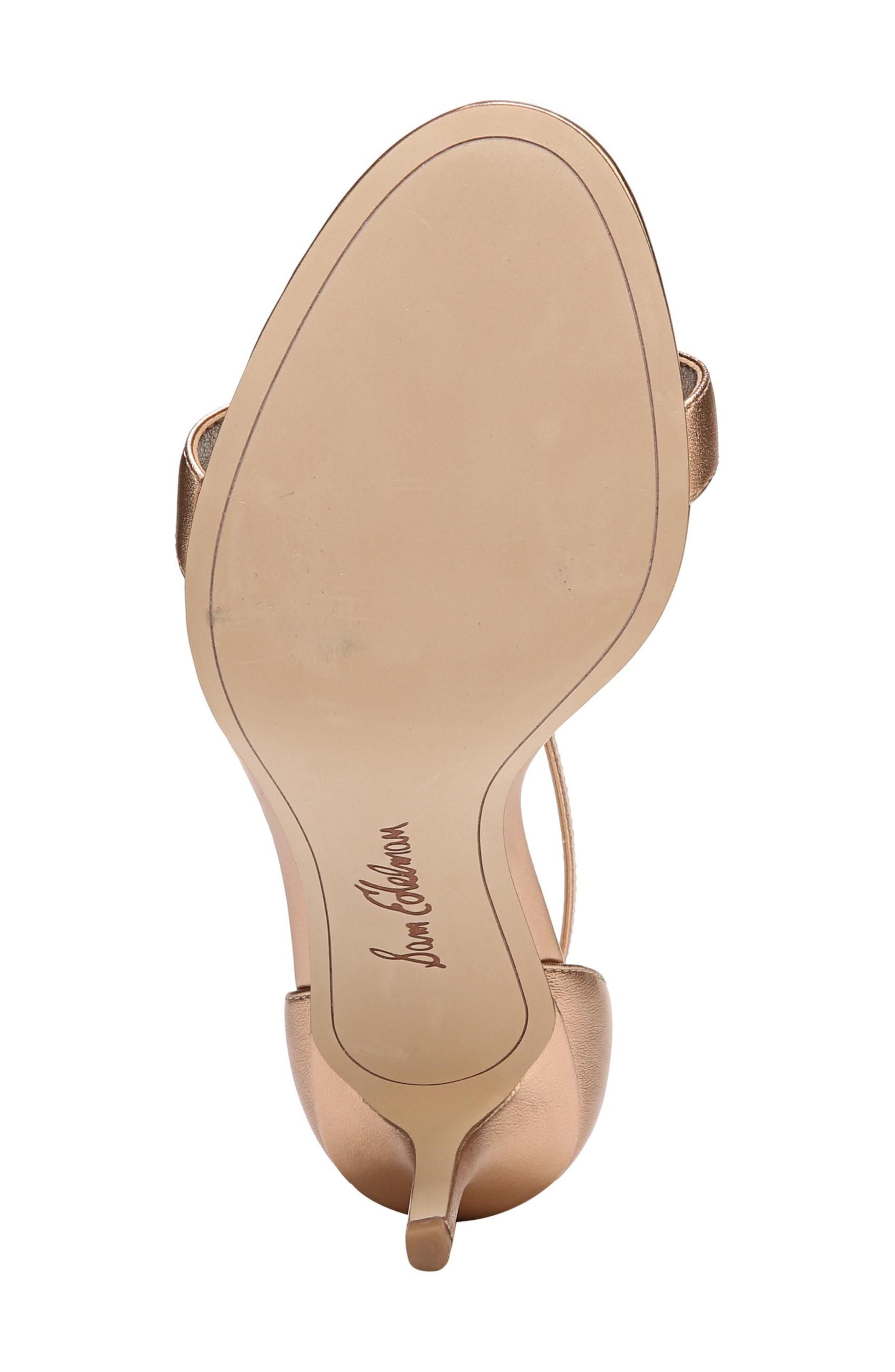 ,                             'Patti' Ankle Strap Sandal,                             Alternate thumbnail 76, color,                             221