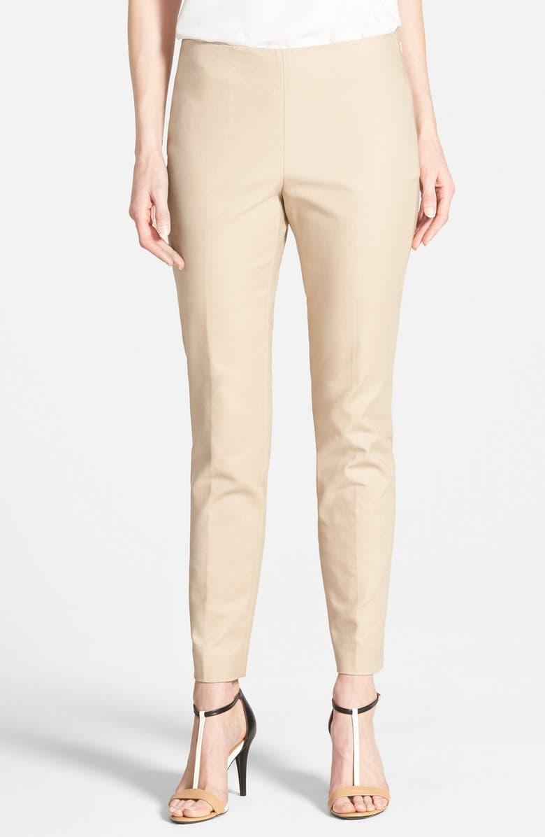 Vince Camuto Side Zip Skinny Pants Nordstrom