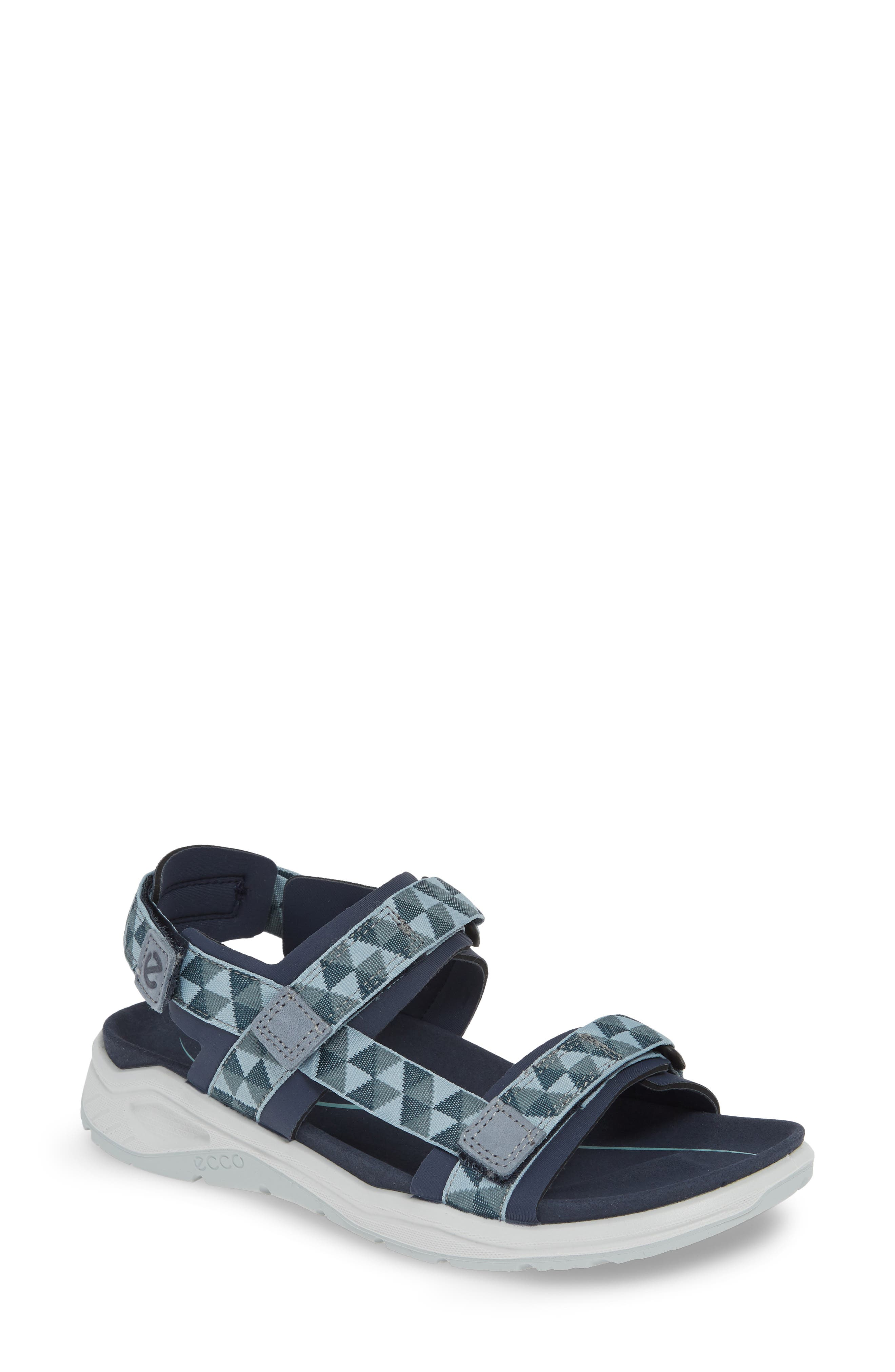 UPC 809704855486 product image for Women's Ecco X-Trinsic Sandal, Size 10-10.5US / 41EU - Blue | upcitemdb.com