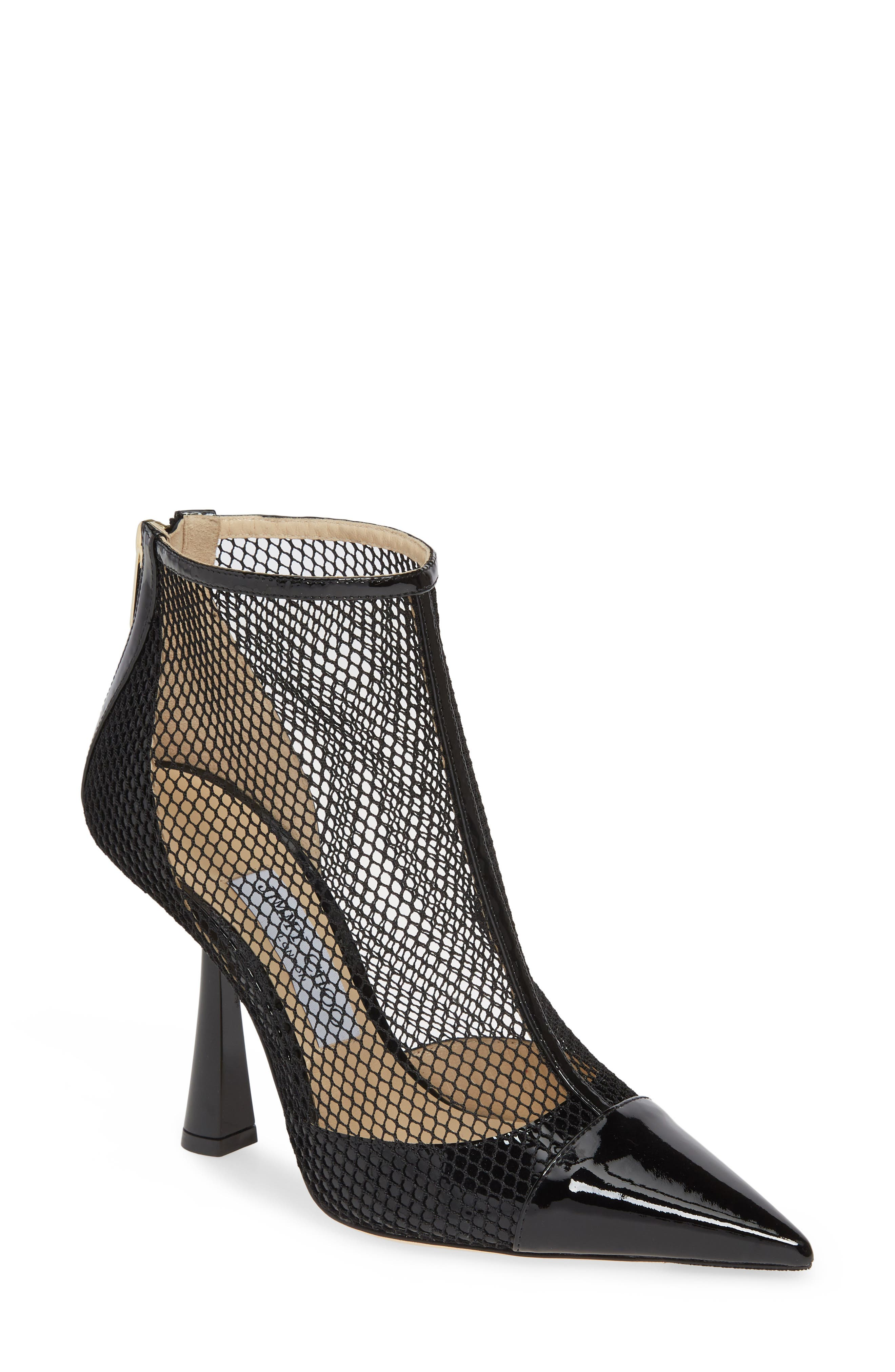 Kix Mesh Bootie, Main, color, BLACK