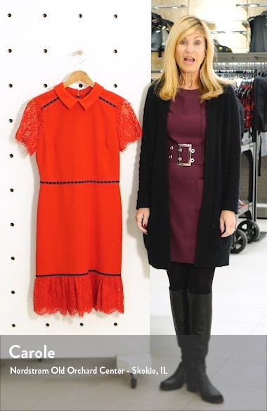 Lace Detail Collar Dress, sales video thumbnail
