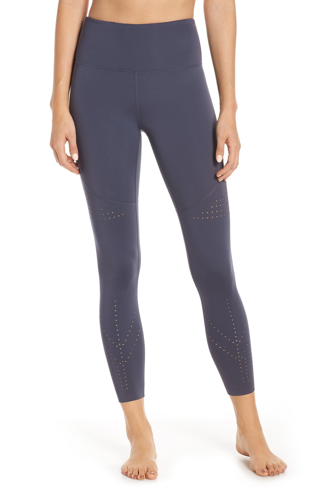 Hydra Perforated Leggings, Main, color, BLUE VINTAGE