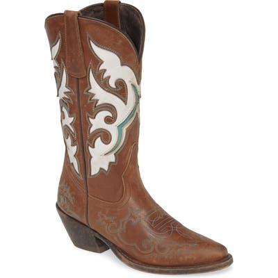 Matisse Stampede Cowboy Boot, Brown