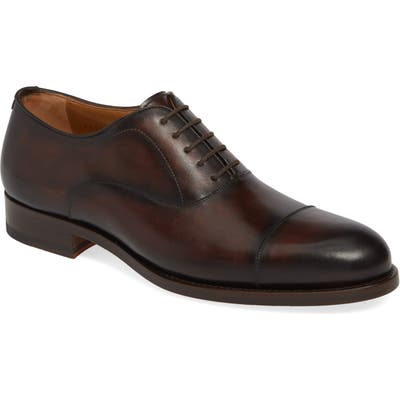 Magnanni Jefferson Cap Toe Oxford, Brown