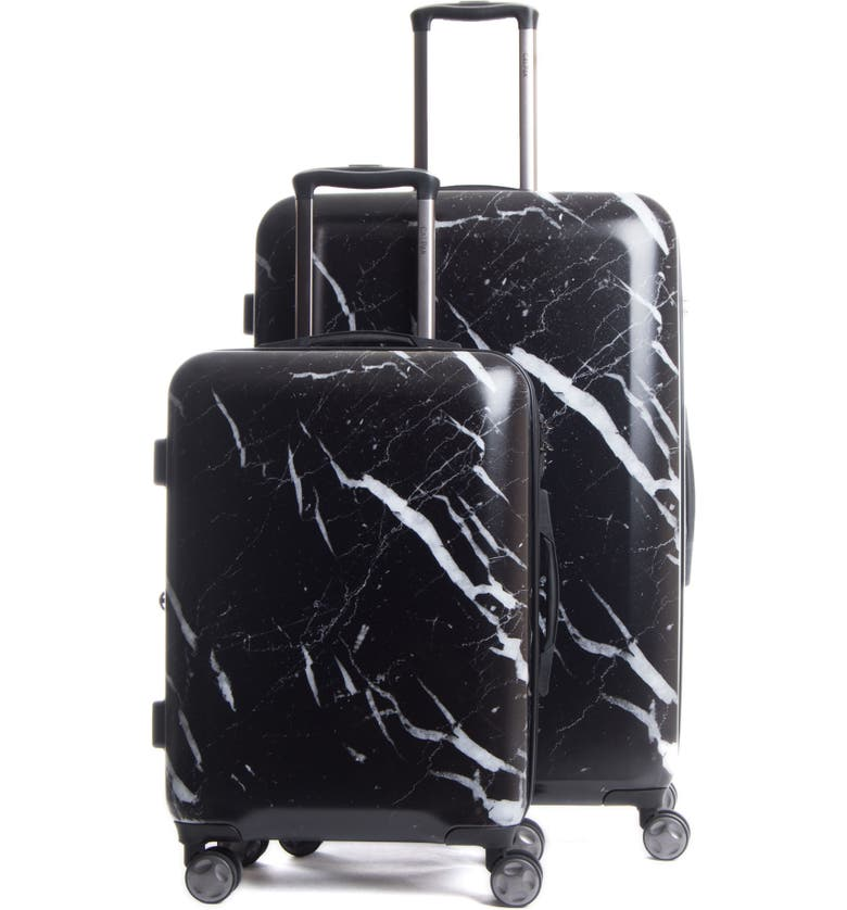 CALPAK Astyll 22-Inch & 30-Inch Spinner Luggage Set, Main, color, MIDNIGHT MARBLE