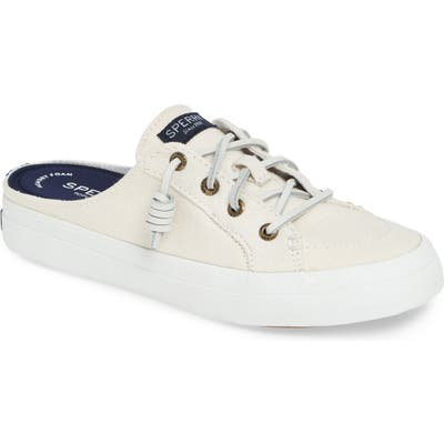 Sperry Crest Vibe Mule, White