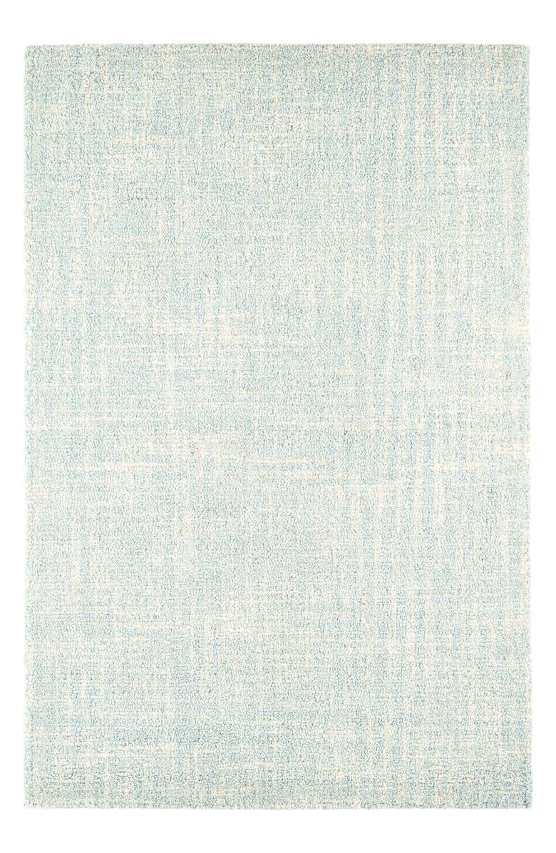 DASH & ALBERT Crosshatch Hooked Wool Rug, Main, color, 450