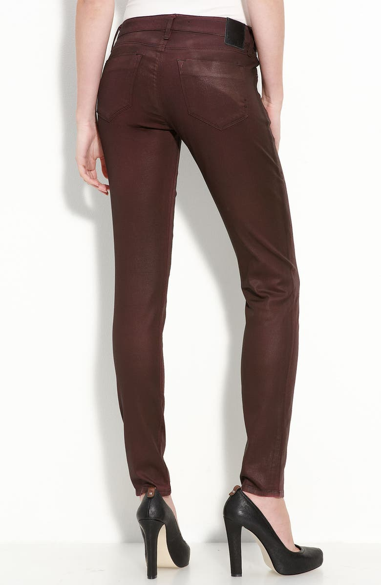 DYLAN GEORGE 'Keira' Mid Rise Skinny Jeans, Main, color, 001