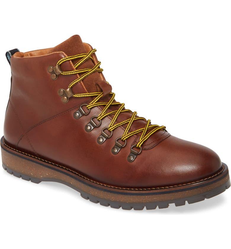 SHOE THE BEAR Lawrence Plain Toe Boot, Main, color, 200