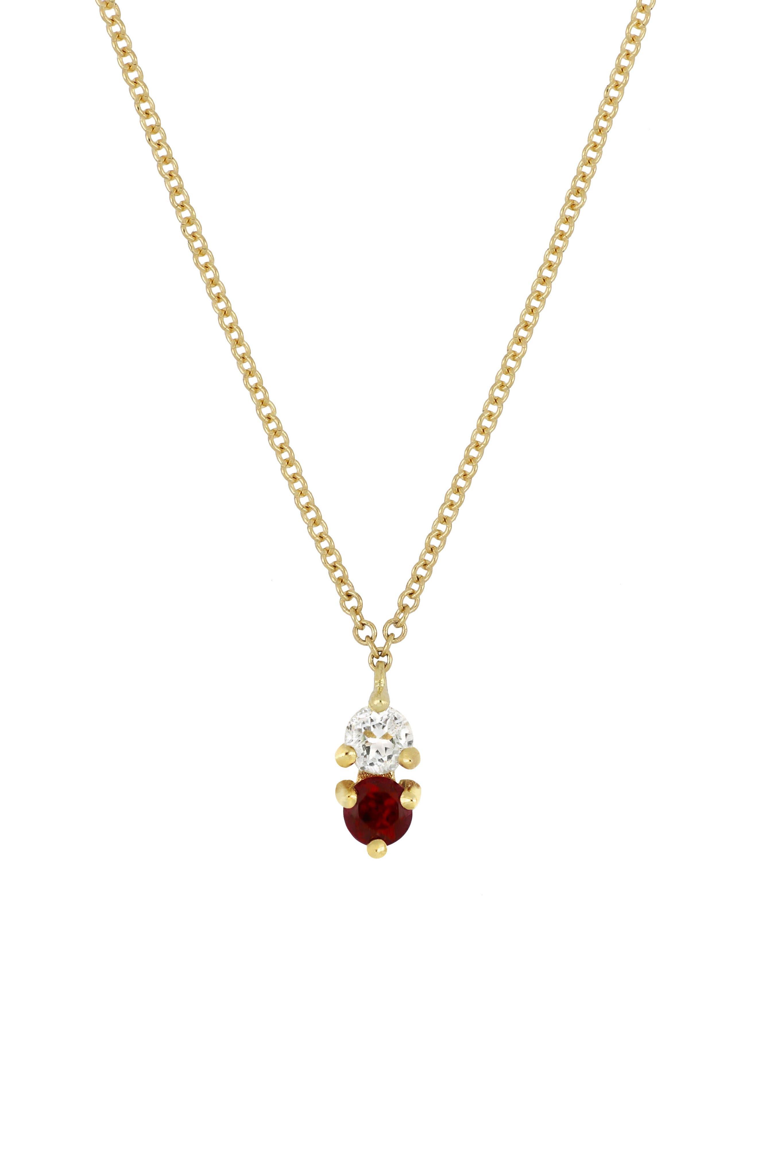 ,                             Birthstone Pendant Necklace,                             Main thumbnail 17, color,                             600