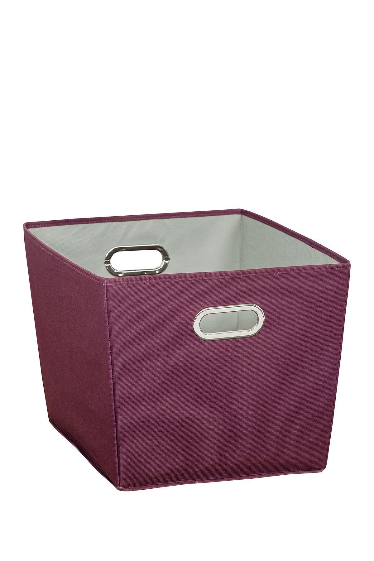 Image of Honey-Can-Do Purple Large Storage Bin