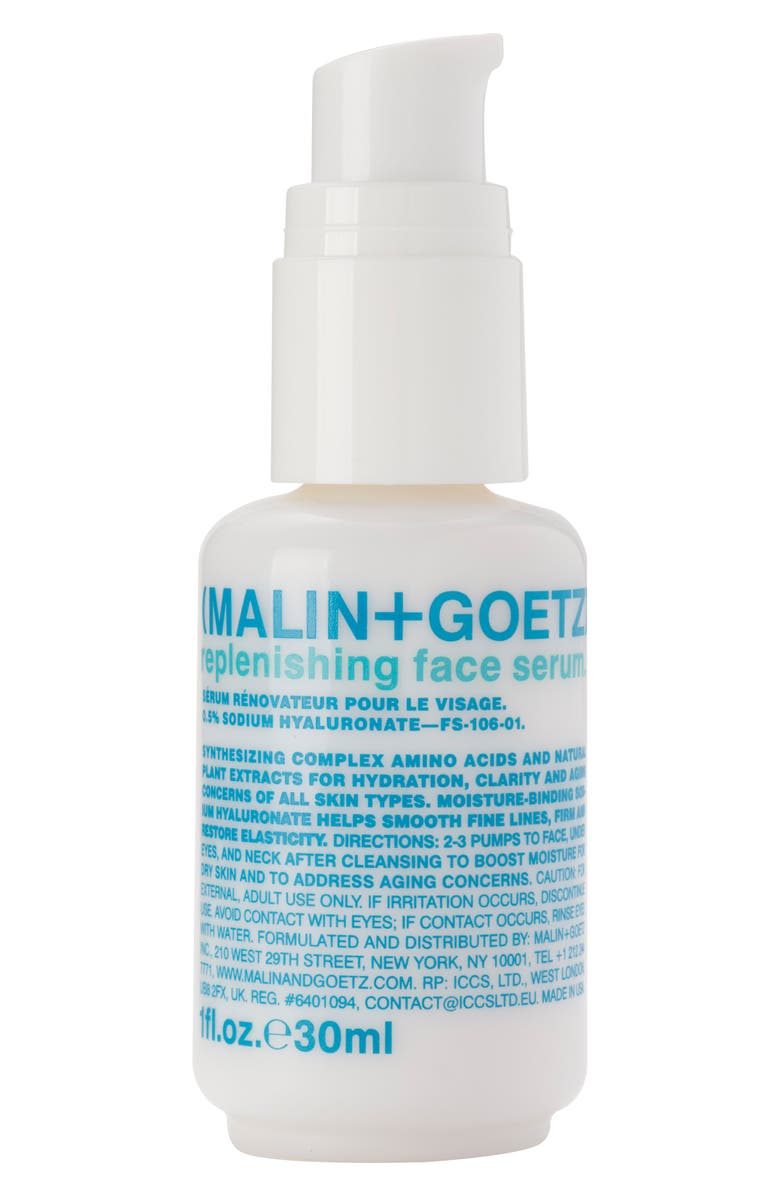 MALIN+GOETZ Replenishing Face Serum, Main, color, NO COLOR