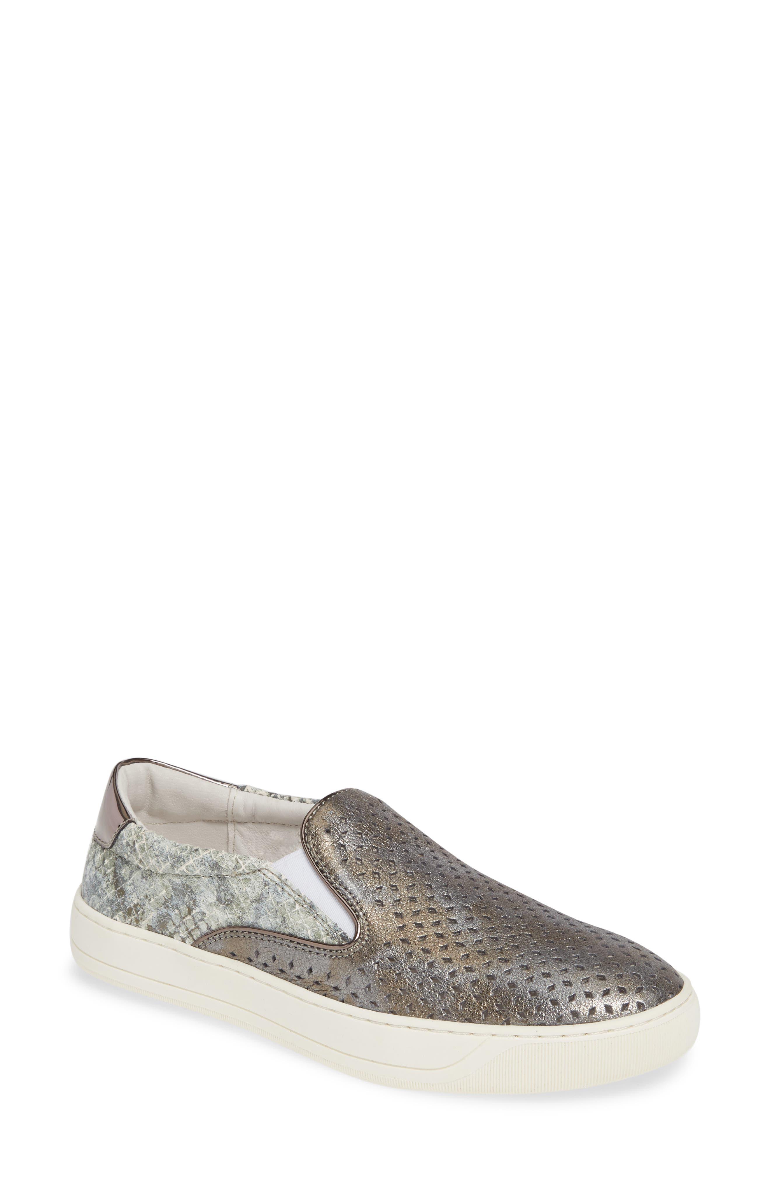 Johnston & Murphy Elaine Perforated Slip-On Sneaker