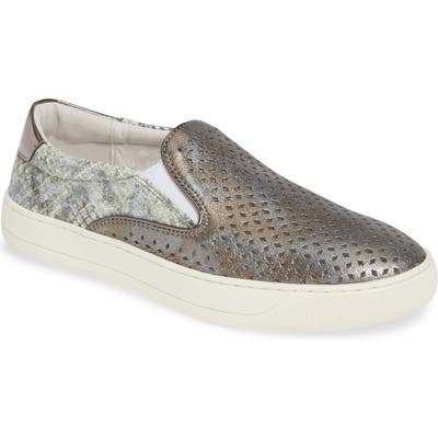 Johnston & Murphy Elaine Perforated Slip-On Sneaker