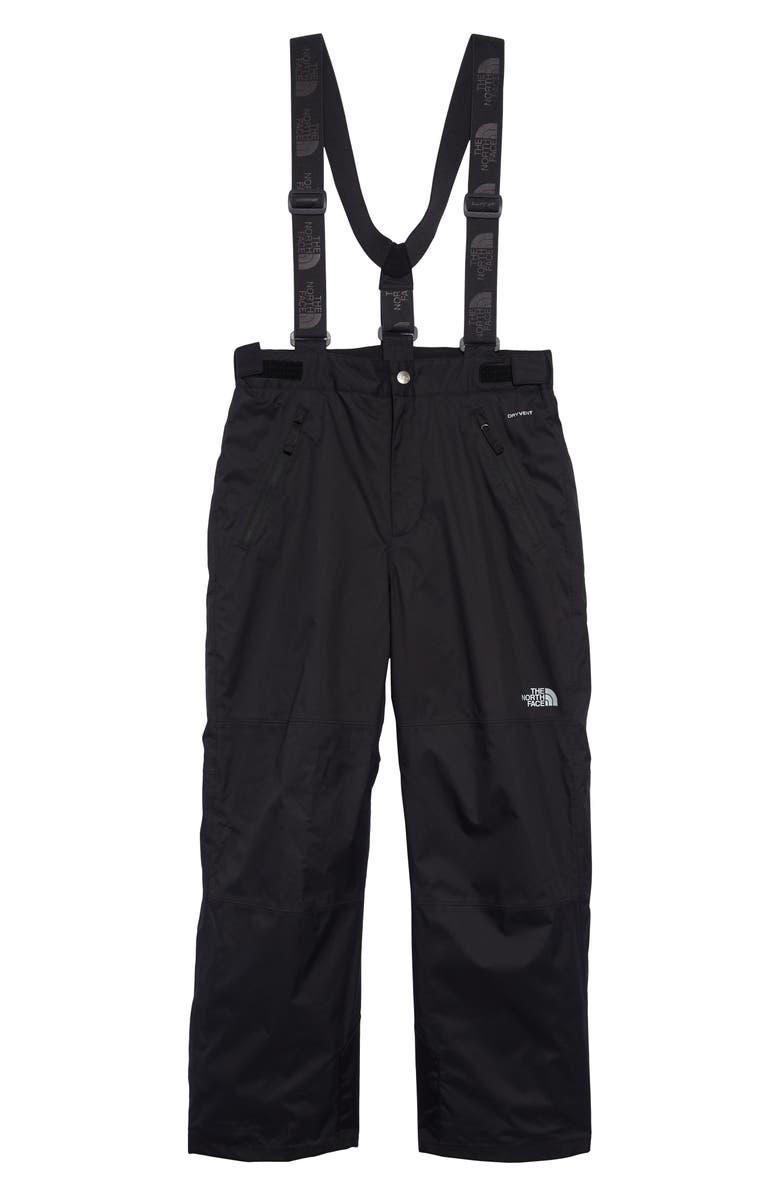 THE NORTH FACE Snowquest Plus Waterproof Snowsports Pants, Main, color, TNF BLACK