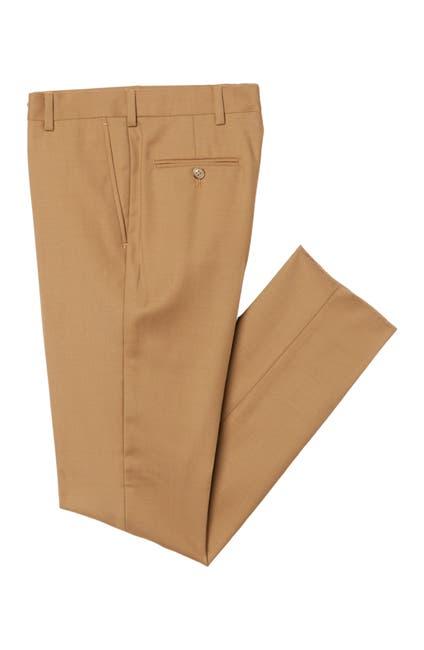 Image of Michael Kors Twill Tan Dress Pants