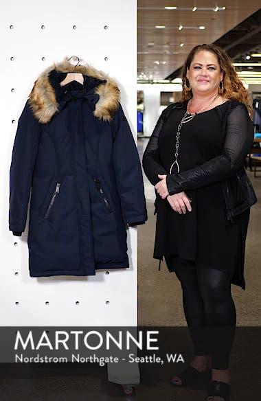 Faux Fur Trim Down Parka, sales video thumbnail