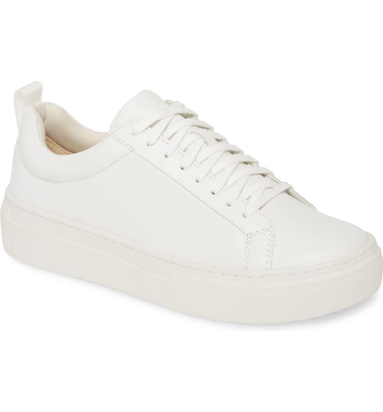 VAGABOND SHOEMAKERS Zoe Platform Sneaker, Main, color, WHITE