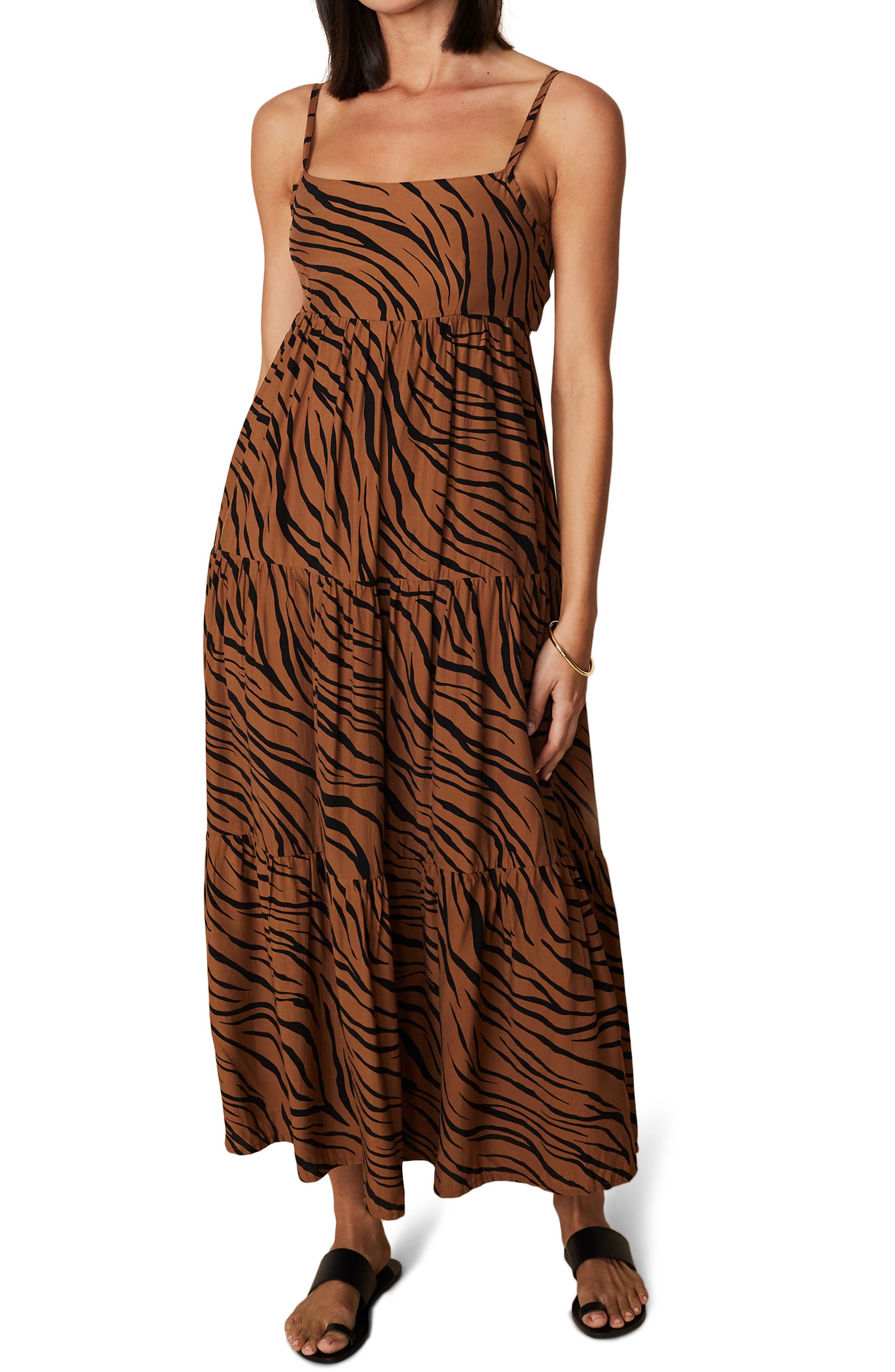 Corvina Animal Print Dress
