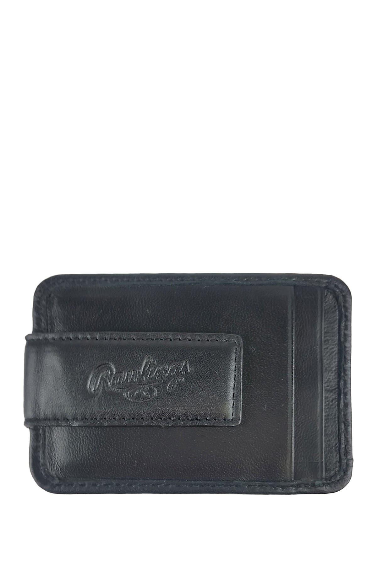 Image of Rawlings Baseball Stitch Money Clip Wallet