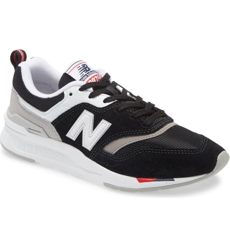 NEW BALANCE 997H Sneaker, Main, color, BLACK/ BLACK