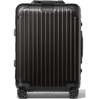 Rimowa Original Cabin 22-Inch Packing Case - Black
