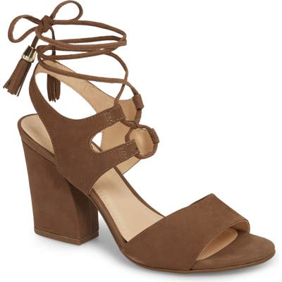 Klub Nico Kaira Ankle Wrap Sandal, Brown