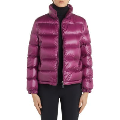 Moncler Copenhague Lacquered Down Jacket, (fits like 4-6 US) - Purple