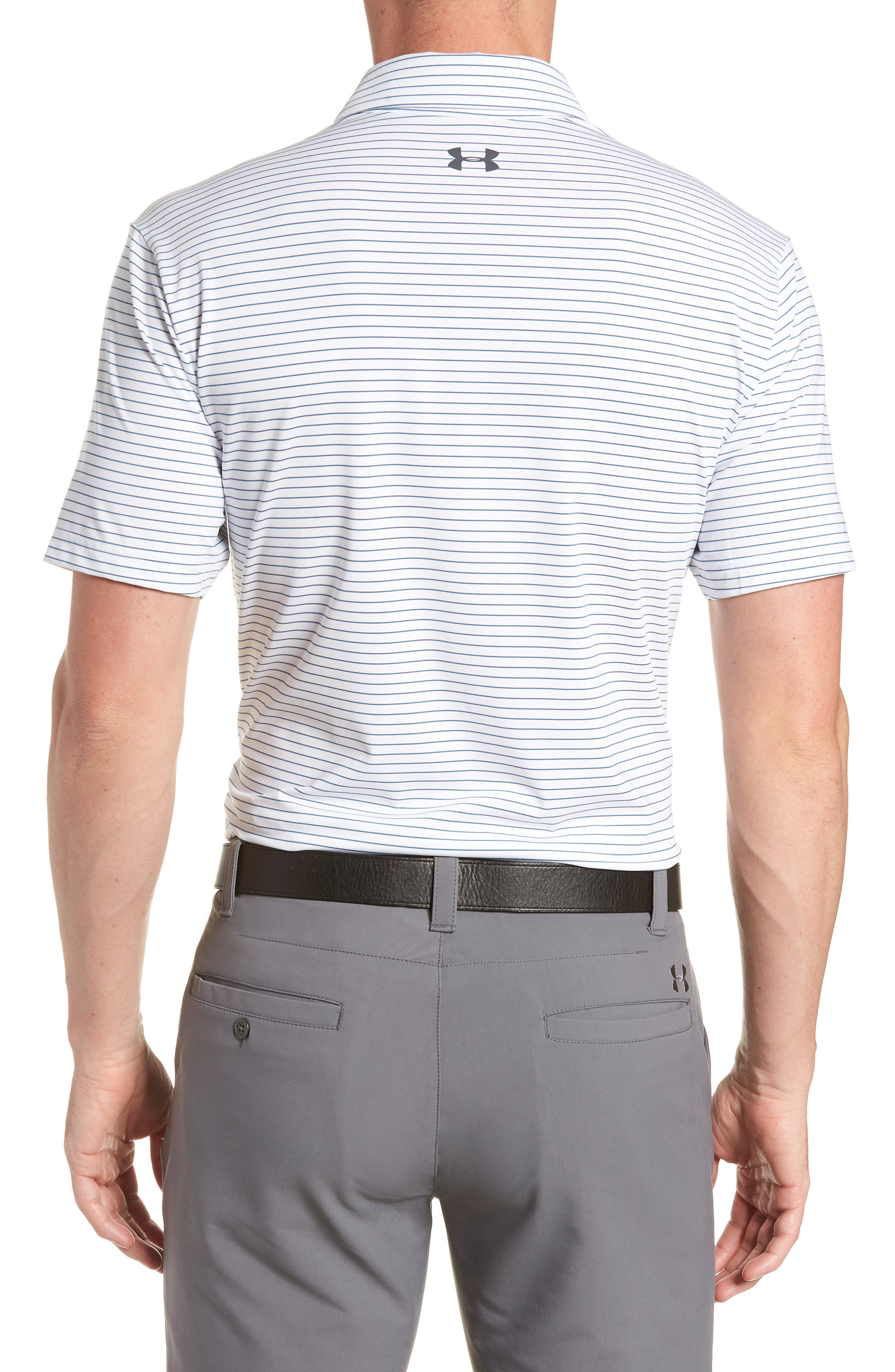 ,                             'Playoff' Loose Fit Short Sleeve Polo,                             Alternate thumbnail 43, color,                             124