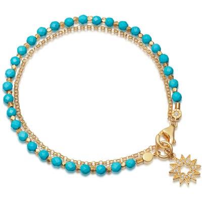 Astley Clarke Sun Biography Turquoise Bracelet