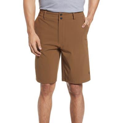 Smartwool Merino Sport 150 Water Resistant Shorts, Brown