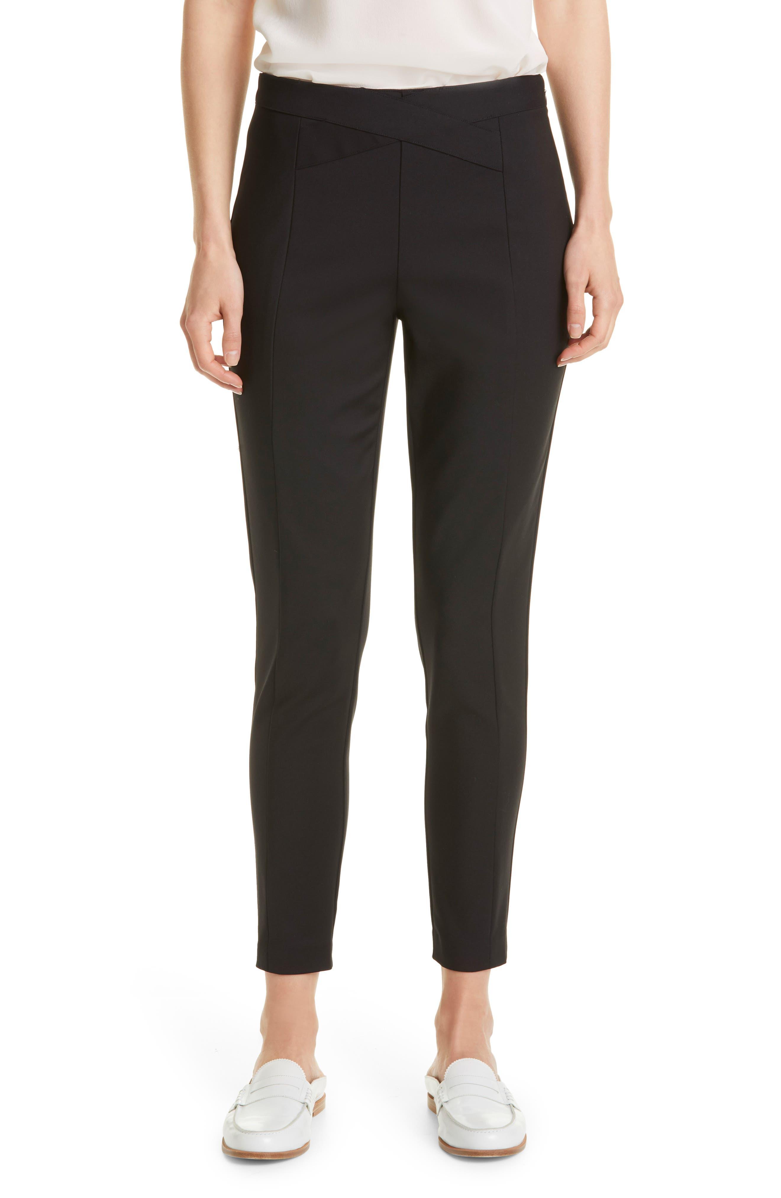 Women's Donna Karen New York Crisscross Waist Pants