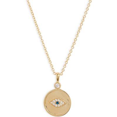 Gorjana Madison Evil Eye Pendant Necklace