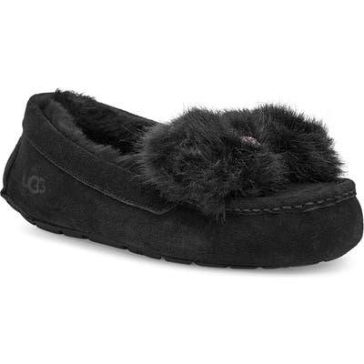 UGG Ansley Bow Slipper, Black