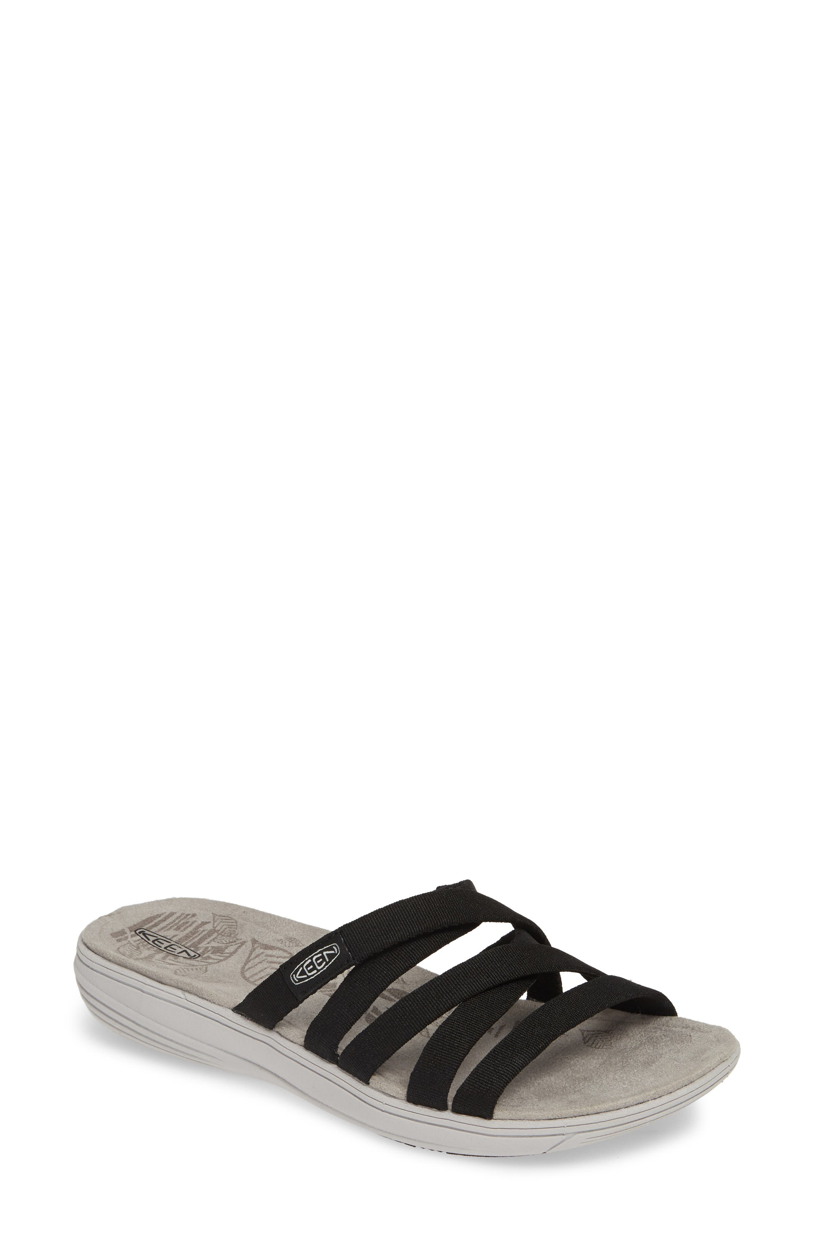 Keen Damaya Slide Sandal- Black